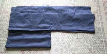 羽織のたたみ方 その4