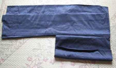羽織のたたみ方 その5